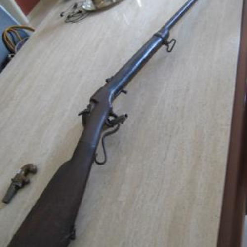 Ballard sporting rifle in cal. 46 Rimfire
